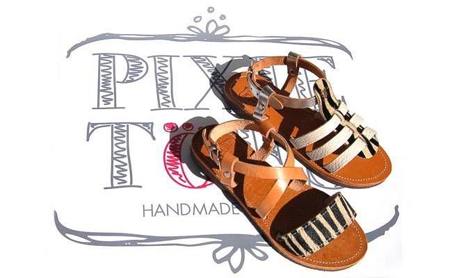 Τα χειροποίητα σανδάλια PixieToes είναι μοναδικά Κατασκευάζονται στην Ελλάδα από γνήσιο δέρμα.