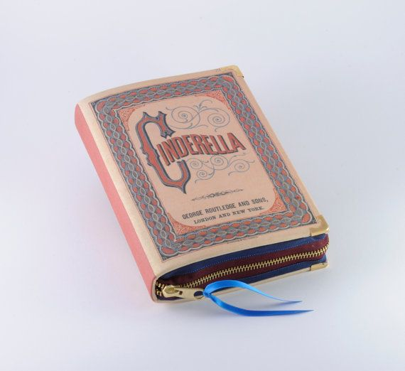 Cinderella Book Clutch by psBesitos on Etsy