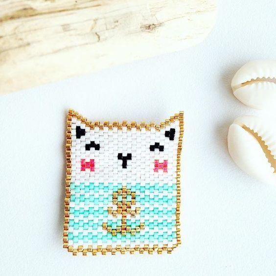 Tuto du sobi en perles miyuki brick stitch par rose moustache