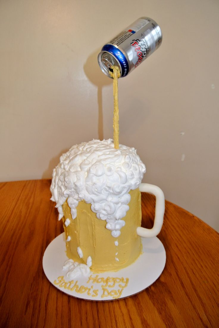 Beer Cake Design Ideas : Home Made Carrot Cake Recipe Beer birthday cakes ...