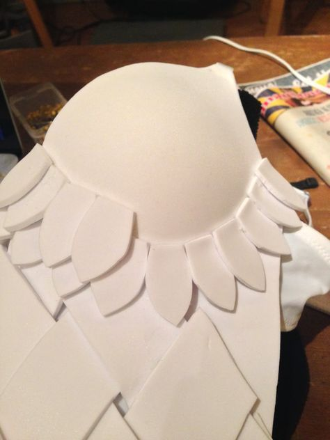 How to Make Craft Foam Armor for Women   Magpie's Wardrobe   SFX makeup and costuming