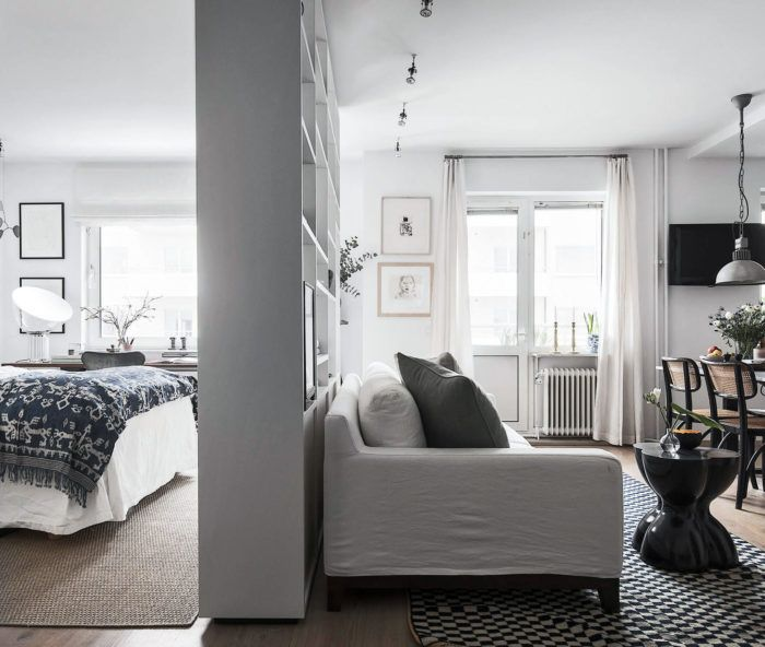 Compact living-tips för sovrummet | ELLE Decoration