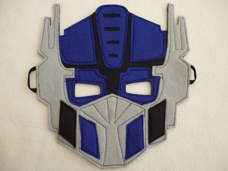 Optimus Prime Transformers Felt Mask fancy