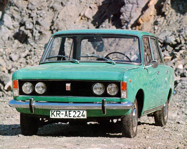 Polski-Fiat 125 P - 1974