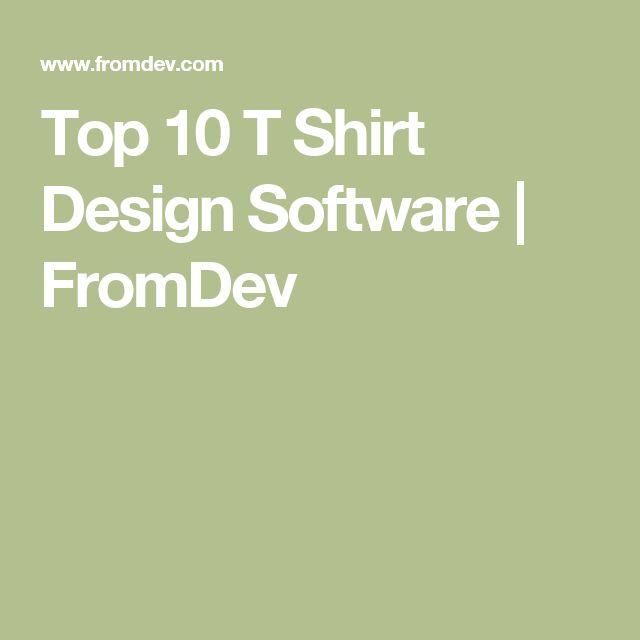 Best 25 T Shirt Design Software Ideas On Pinterest