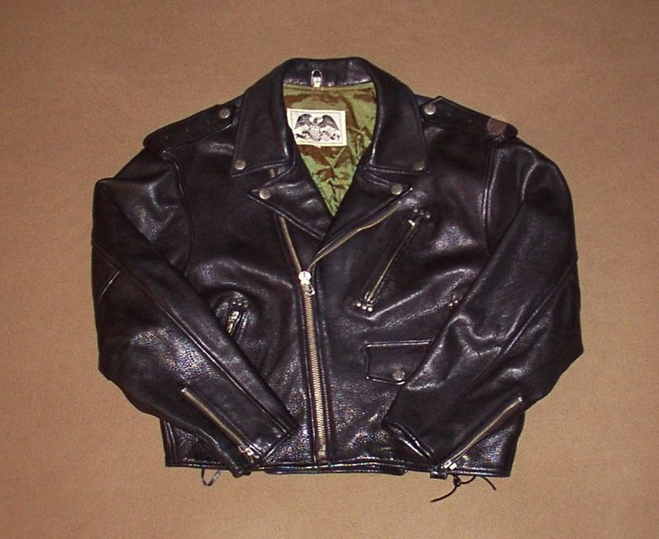 Avirex Motorcycle Jacket mrmommy on Ebay Avirex