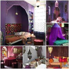 20 ideas para una decoración árabe bohemia 6