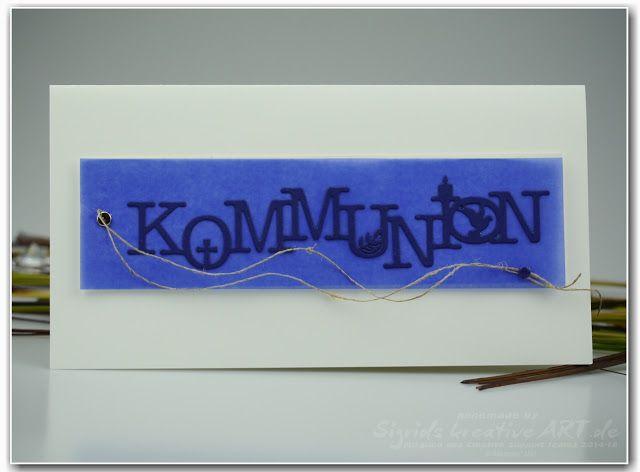Stampin' Up! Ideenblog - Sigrids kreative ART: Karten zur Kommunion