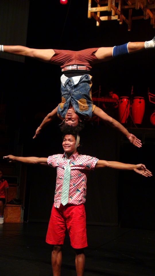 What is the Second Best Attraction in Siem Reap, Cambodia Phare Circus