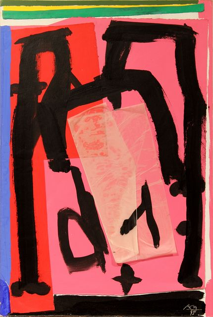 Robert Motherwell, 'Mexican Collage,' 1979, Bernard Jacobson Gallery