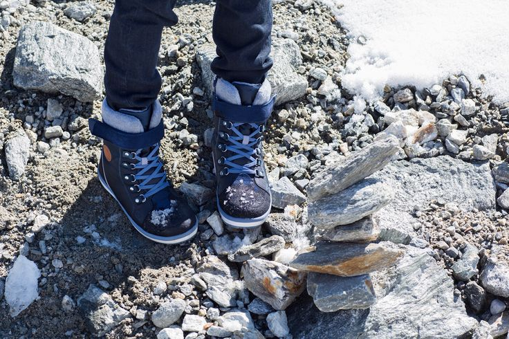 """Reima's """"Freddo"""" shoes are comfortable also in a bit rougher ground."""
