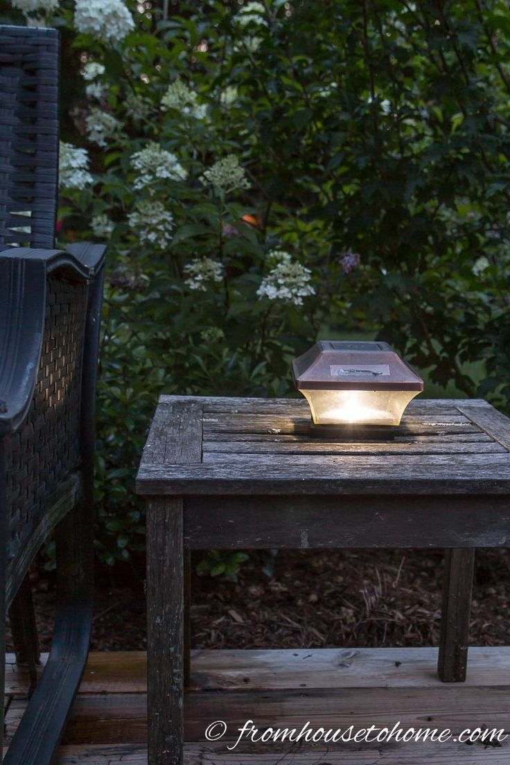 8 Dramatic Landscape Lighting Effects And How To Use Them | Whether you're looking for DIY landscape lighting ideas for your front yard, backyard or walkway, this list will help! It shows you lots of ways to use both low voltage and solar lights in your garden or patio.