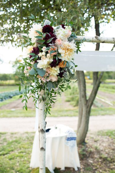 Wedding Flowers In Queens Ny : Queens county farm museum wedding rustic feel