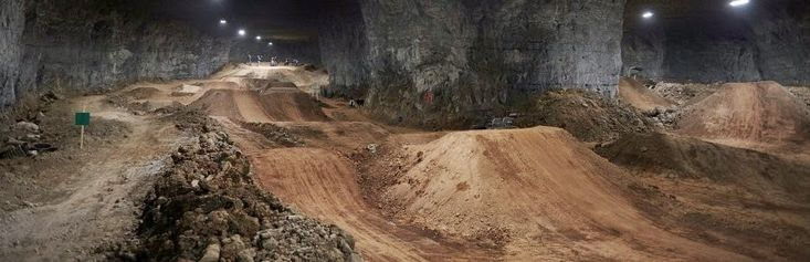 Heaven - Abandoned Mine is Now World's Largest Indoor BMX Bike Park