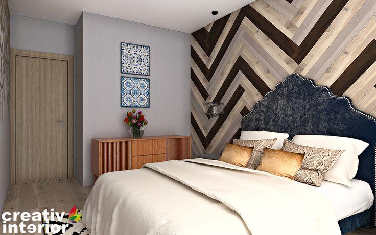 Design Interior Rezidential – Apartament urban in stil retro-modern - gasim solutii practice, dar si estetice pentru fiecare incapere in parte