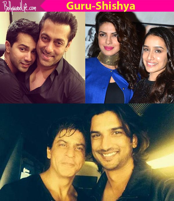 Shah Rukh Khan-Sushant Singh Rajput, Salman Khan-Varun Dhawan – 5 guru-chela jodis we want to see onscreen after Hrithik… #FansnStars
