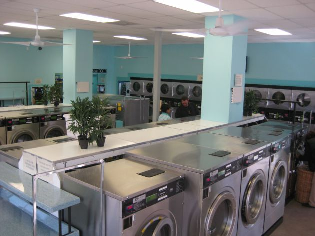 Commercial Laundry Design | Commercial Laundromat Interior Design Pictures | Joy Studio Design ...