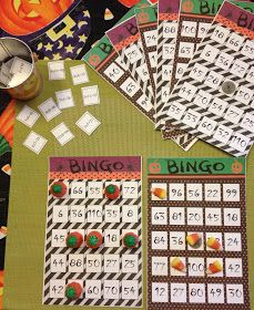 Halloween  Multiplication  Bingo   Recommended for 3 rd , 4 th  or 5 th  grade     In the set there are 8 different Bingo cards (2 on eac...
