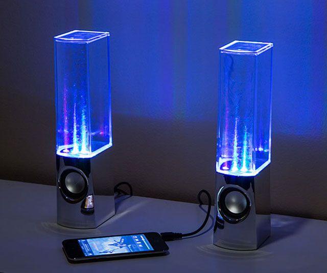 Dancing Water Speakers | DudeIWantThat.com