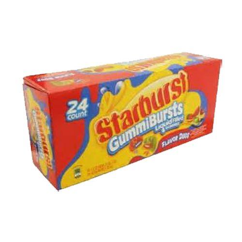Starburst GummiBursts Flavor Duos Liquid-Filled Gummies - 1.5-oz. Bag