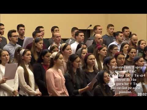 Grup coral - Tineret, la Domnul vino azi (Betania Cluj) - YouTube