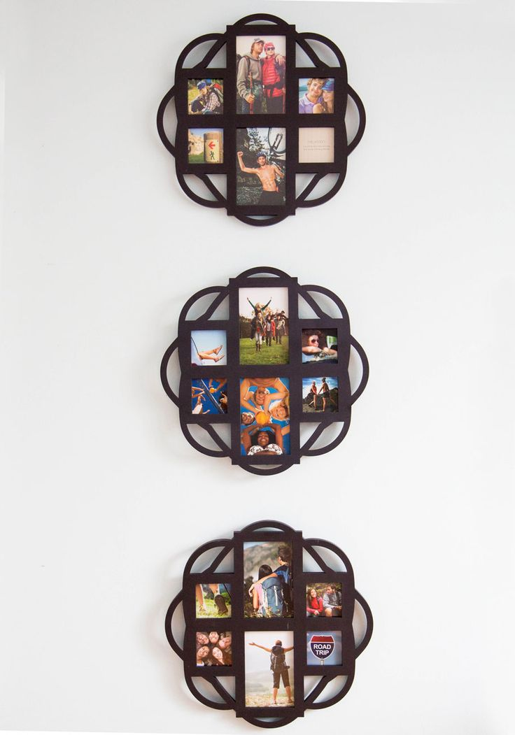 Knot a Day Goes By Wall Frame Set. Day in, day out, these black wall frames bring eclectic style and heartwarming happiness to your posh pad! #black #modcloth