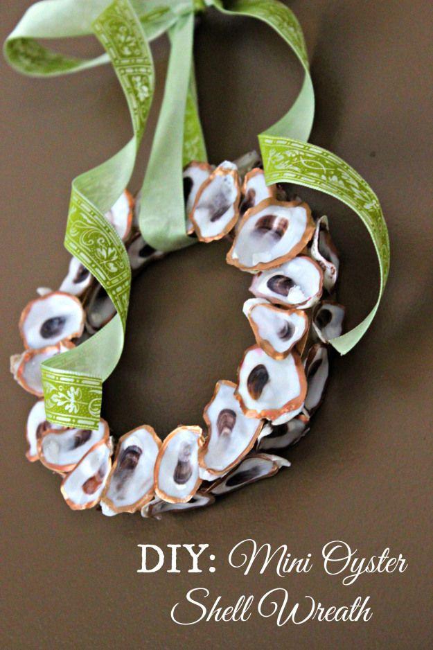 Best 25 shell wreath ideas on pinterest seashell wreath for Diy shell crafts