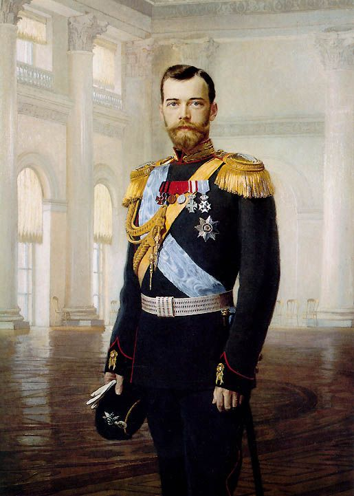 Such a tragic story but a great work of art. Russian Tsar Nicholas II. Circa 1900. Oil on Canvas by Earnest Lipgart.