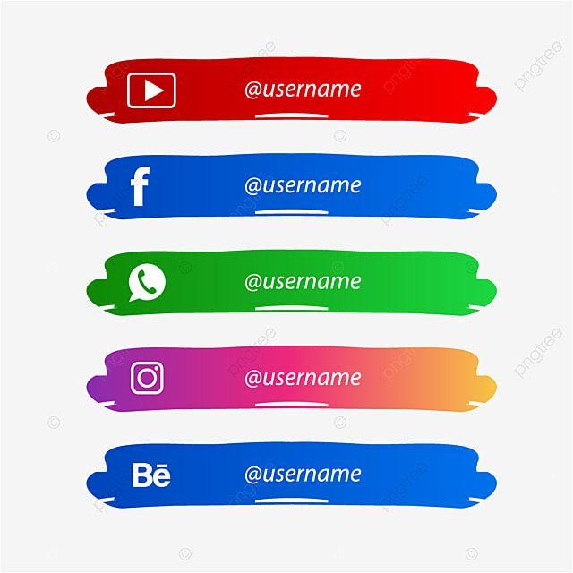 Medios Sociales Inferior Tercero Con Pincel Redes Sociales Cepillo Tercio Inferior Png Y Vector Para Descargar Gratis Pngtree In 2021 Lower Thirds Social Media Social Media Video