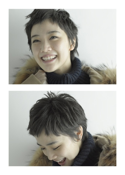 Yu Aoi and her lovely short hairstyle