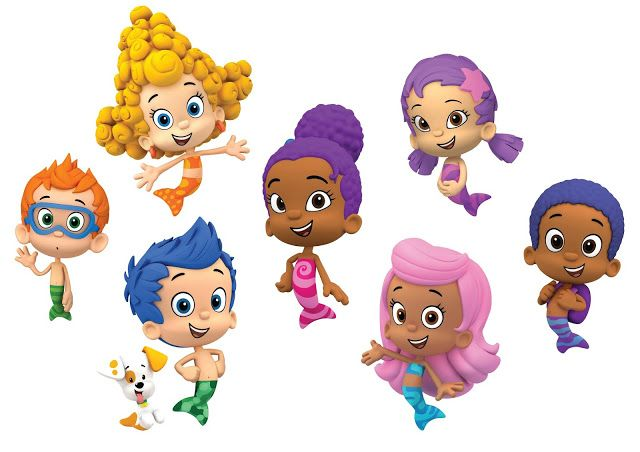 Nickalive Nickelodeon Usa To Premiere Bubble Guppies Season 5 On Friday September 27 201 Bubble Guppies Bubble Guppies Characters Bubble Guppies Birthday