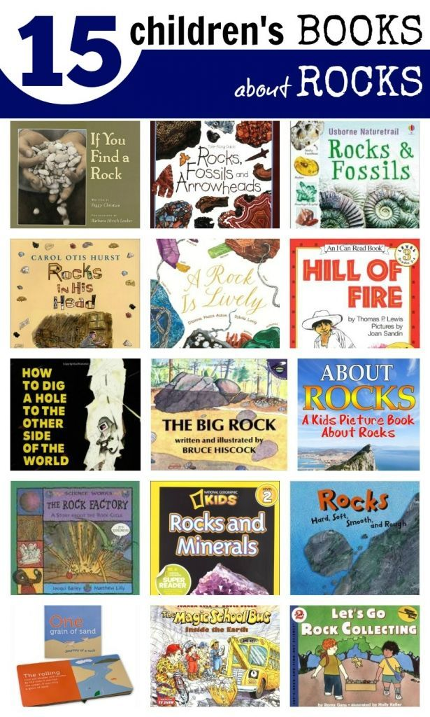 Childrens Books about Rocks