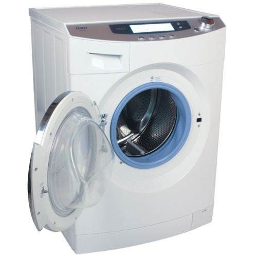 Would it fit properly into the space, I wonder. The drier wouldn't be as effective as a normal drier but would partially dry it ready to dry faster on a clothes maid. Haier 1.8 Cubic Foot Ventless Front Load Combo Washer Dryer - HWD1600BW