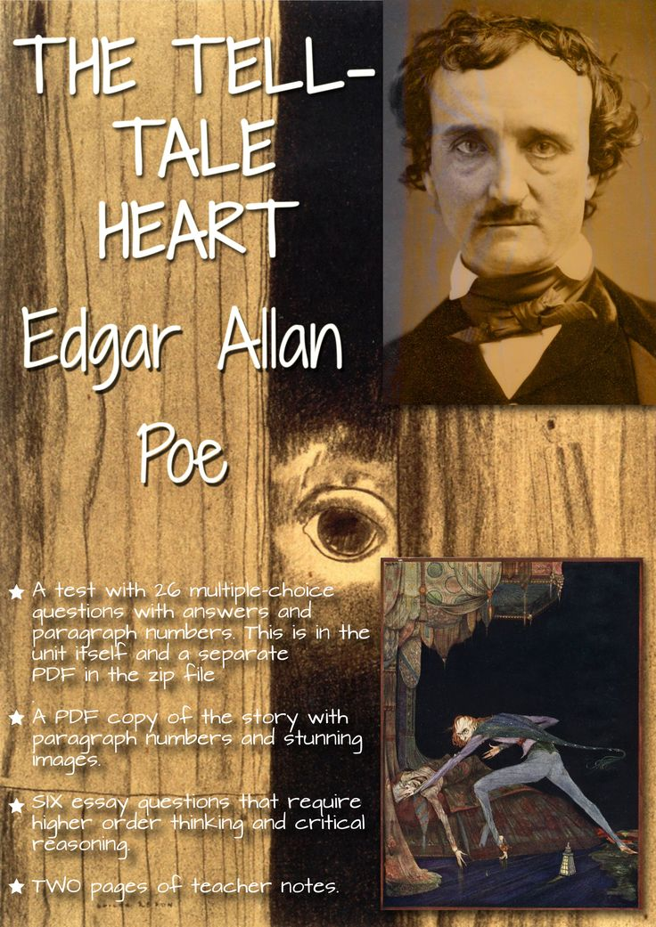 "essay on tell tale heart and cask of amontillado ""the cask of amontillado"" and ""the tell-tale heart"" introduction the cask of amontillado and the tell-tale heart stories written by edgar poe are similar in."