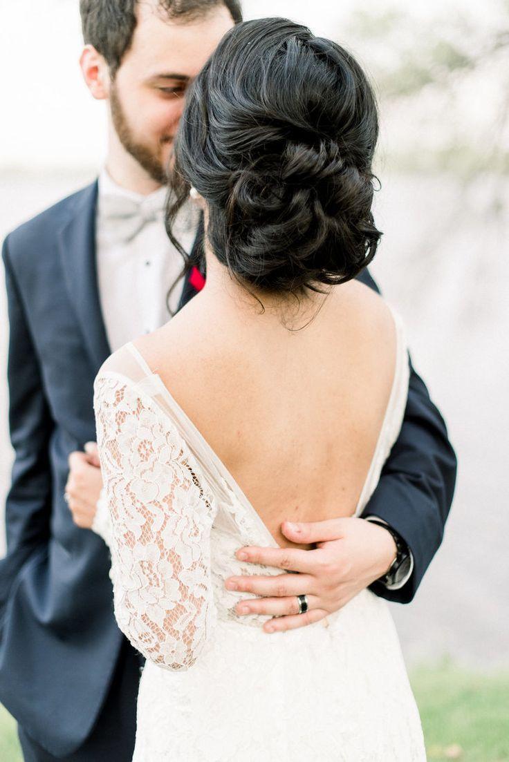 Loose Braid Different Bun Bridal Hair Updo Bride Hairstyles For Long Hair Long Hair Styles