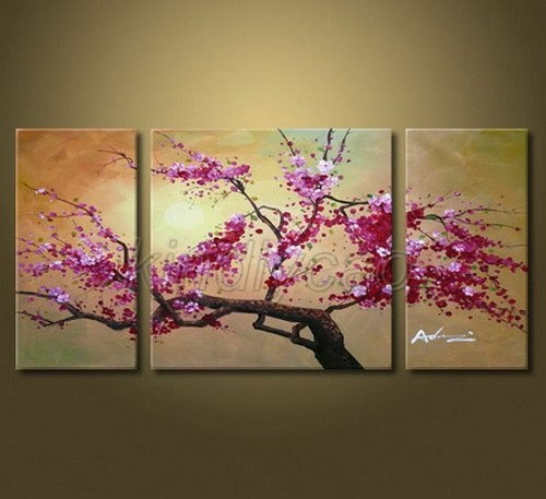 17 best images about oil painting on pinterest canvas for Canvas painting of cherry blossoms