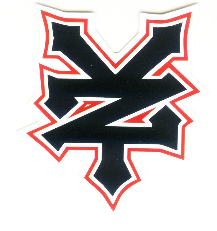 #1732 ZOO YORK Skateboards Brand Logo, 7 x 8 cm decal sticker - DecalStar.com