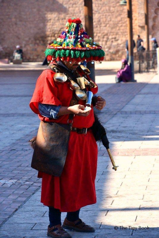Water sellers. Marrakech, Land of God? http://www.thetinybook.com/marrakech-land-of-god/