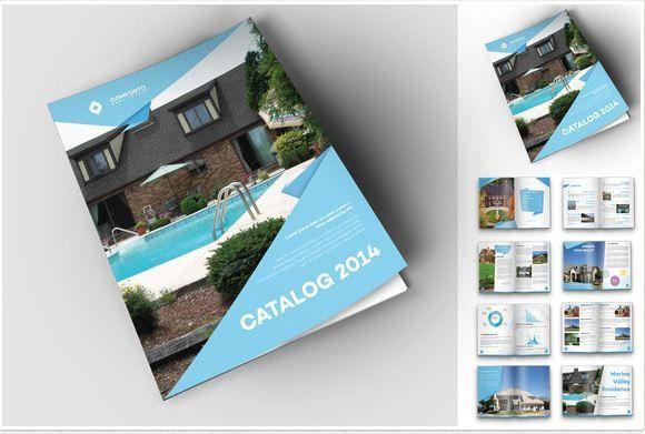 unique brochure templates