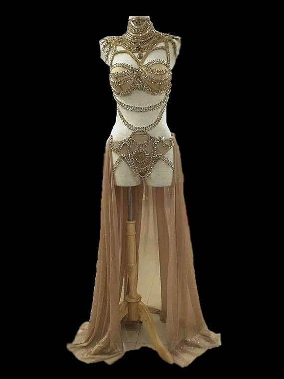 ALEKTA sequined bodysuit