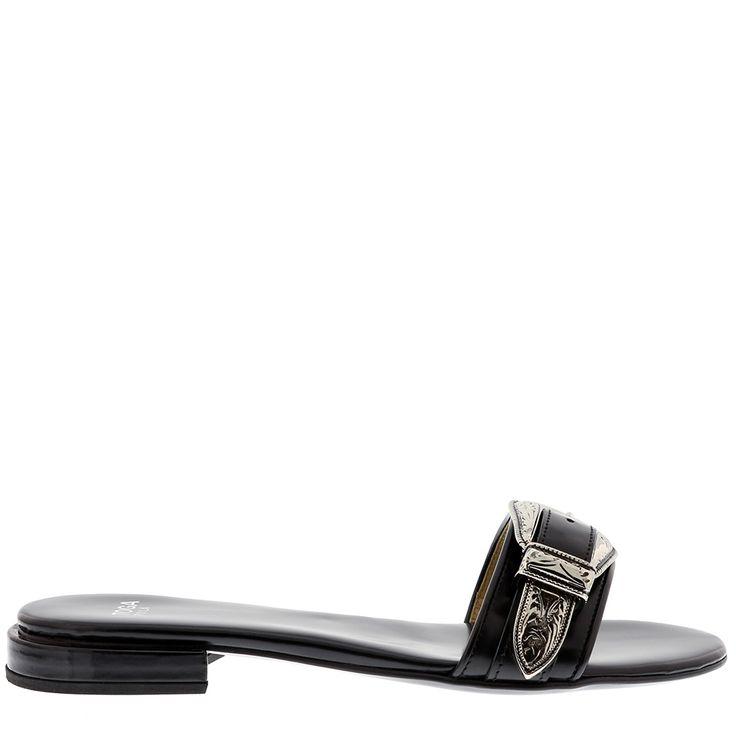 Slipper aj841 zwart toga pulla