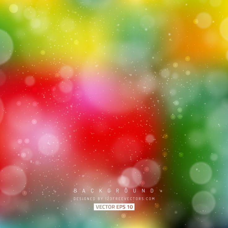 Colorful Blurred Lights Background Image  - https://www.123freevectors.com/colorful-blurred-lights-background-image/