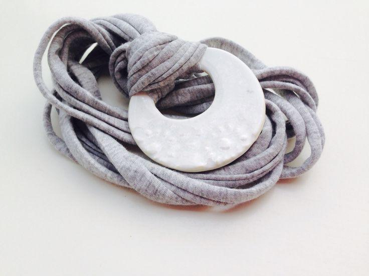 A.Matusik- ceramiczna zawieszka, naszyjnik