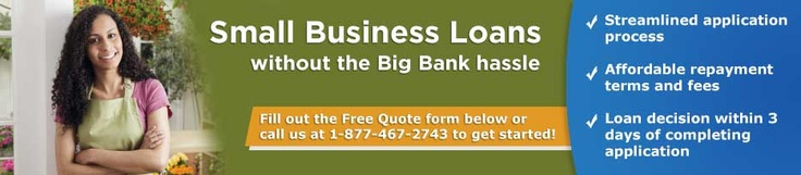 Small Business Loans without the Big Bank hassle