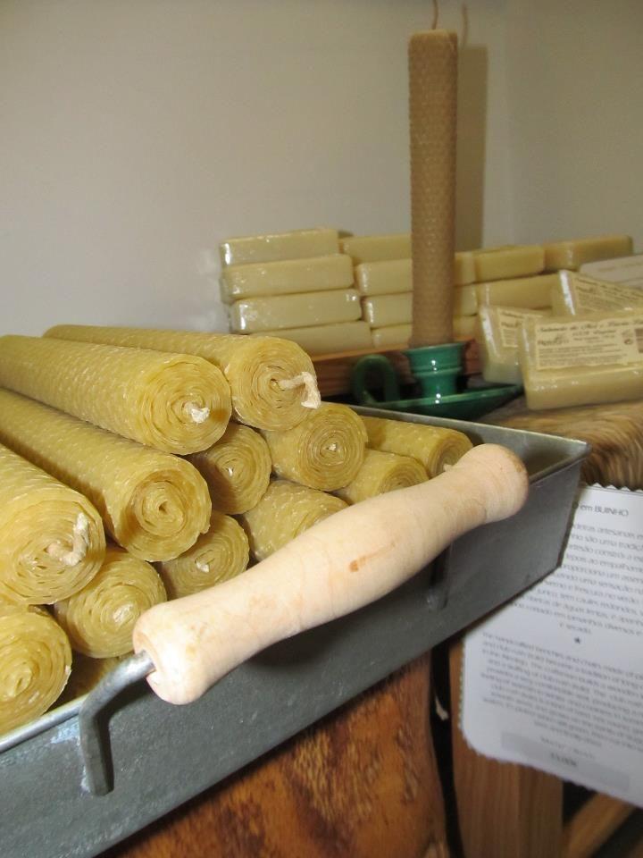Velas de cera de abelha e os sabonetes de mel e lúcia-lima! | Gente da minha Terra
