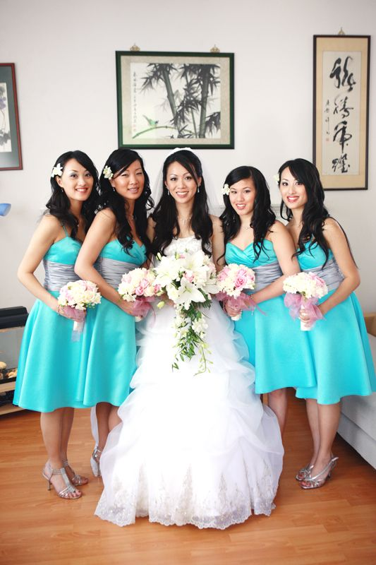 Short Tiffany Blue Bridesmaid Dresses - Bing Images