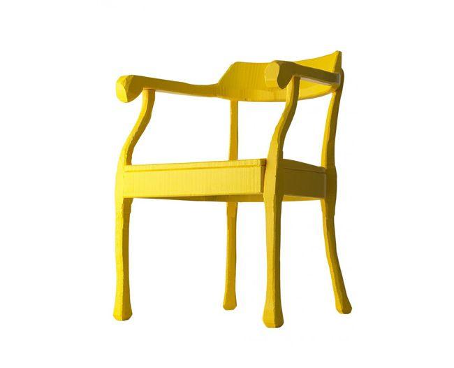 Muuto RAW Chair in Yellow