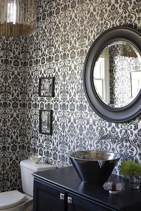 Powder Room, Bathrooms Design