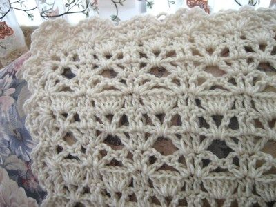 Vintage Lace Crochet Afghan Stitches Patterns And Blankets