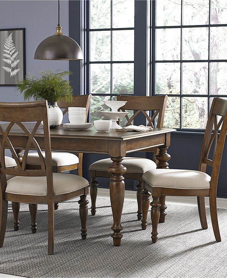 Oak harbor dining furniture collection furniture macy for Oak harbor furniture